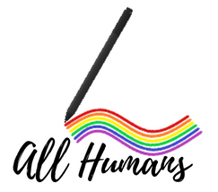 Logo all humans lgbt